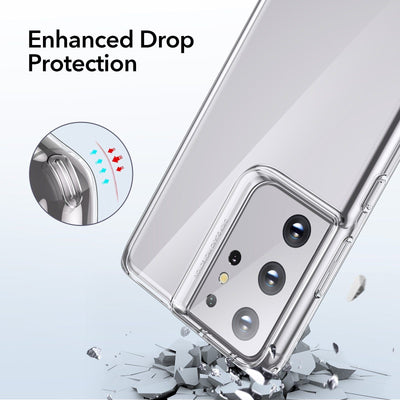 For Samsung S21 Series Case Transparent Soft TPU Silicone Case Niesaner