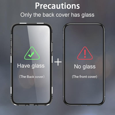 Metal Magnetic Adsorption Glass Case For Huawei Honor 10 P30 P20 Lite Mate 20 Pro Nova 5 5i 3i 3 4 Y9 Prime P Smart Z 2019 Cover Niesaner