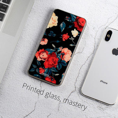 Super fashion Marble 10000mAh tempered glass portable power bank charger Niesaner shop