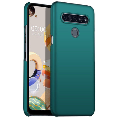 Ultra Slim Smooth Touch Silicone Case For LG Velvet Stylo 6 K61 V60 Ultra Thin Simple for LG phone case Velvet Stylo 6 K61 V60 Niesaner For LG V60 Green LG phone case