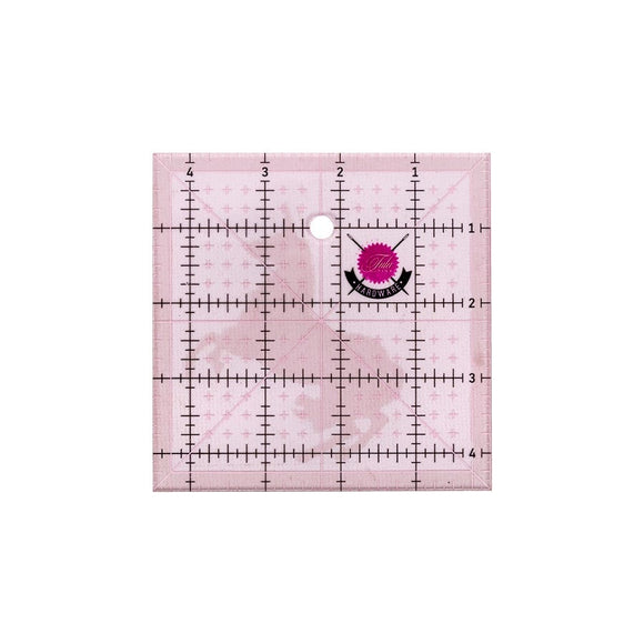 Tula Pink Hardware - 4.5 inch Square Ruler