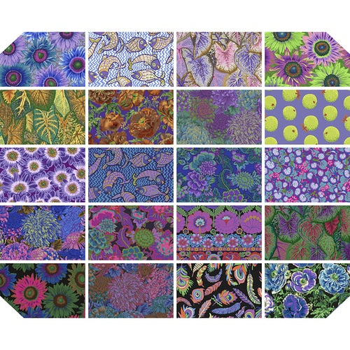 PRE-ORDER (AUGUST 2021): Kaffe Fassett - Collective - FQ Bundle - Dark