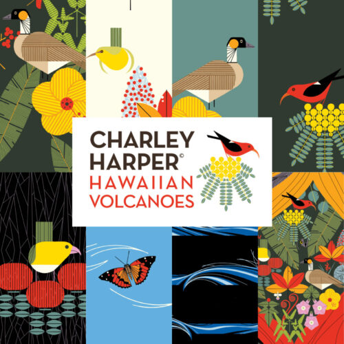 PRE-ORDER (MAY 2021): Charley Harper - Hawaiian Volcanoes - One Meter Bundle