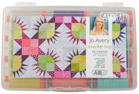 Jo Avery Sherbet Dip - Aurifil Thread Collection