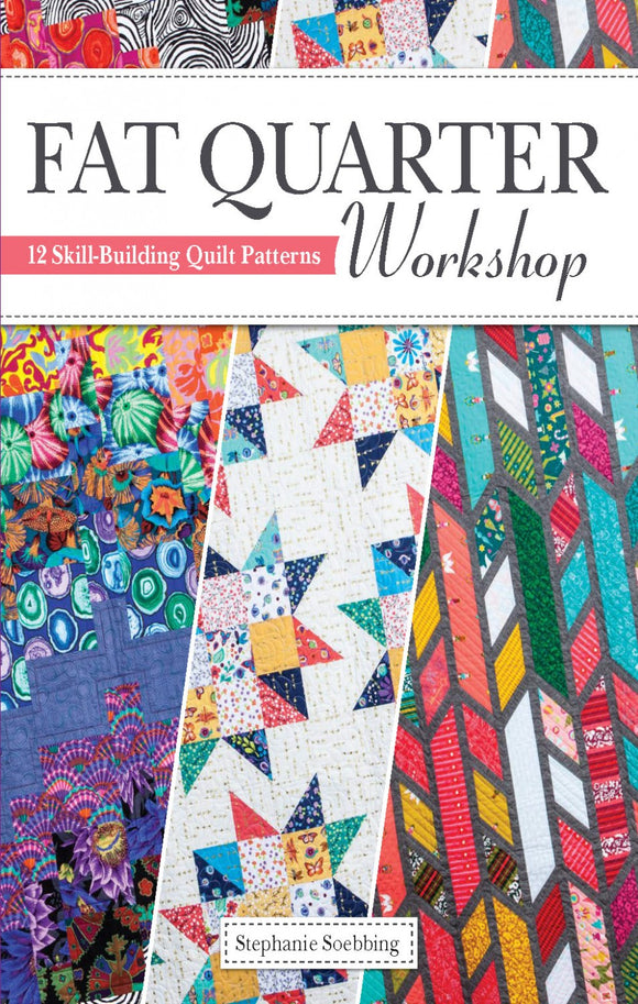 BACK-ORDER (MARCH 2021): Fat Quarter Workshop - From Landauer