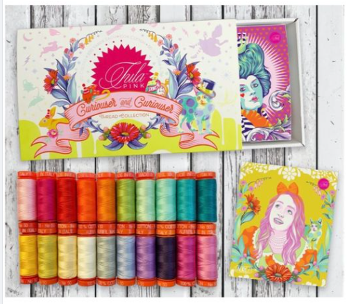 PRE-ORDER (APRIL 2021): Tula Pink Curiouser & Curiouser Aurifil Thread Set