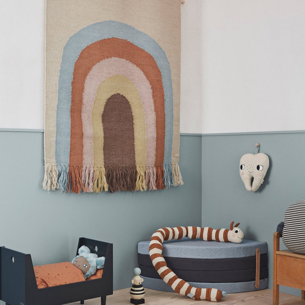 OYOY Canada - Danish Wall Rug - Follow the Rainbow Multi - ella+elliot