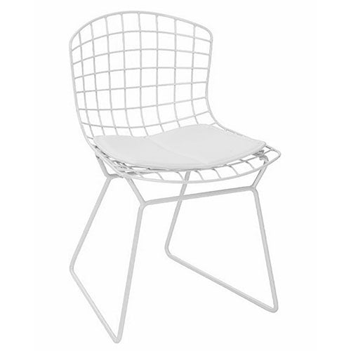 House Collection Canada - Mid-Century Chrome Wire Kids Chair - ella+elliot