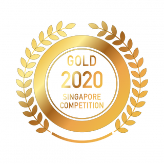 ROSHAIN GIN GEWINNER SINGAPORE AWARDS 2020 GOLD MEDAL
