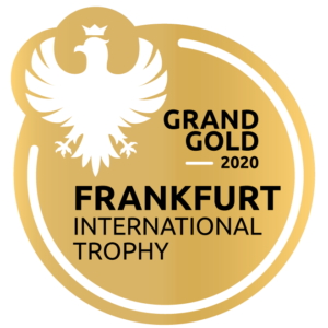 ROSHAIN GIN GEWINNER FRANKFURT INTERNATIONAL SPIRITS TROPHY