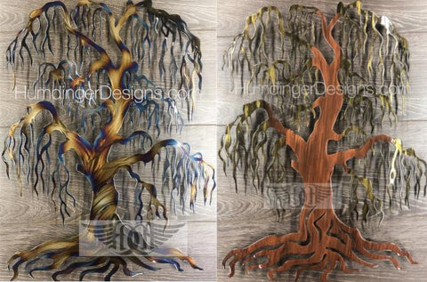 Willow Tree Metal Wall Art