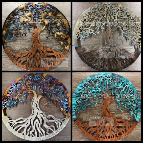 Attractive Shop TREE OF LIFE. Oak Tree Metal Wall Art