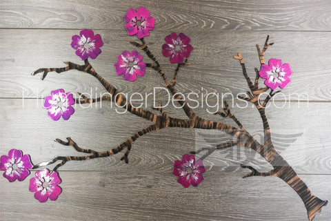 Branches Metal Wall Art