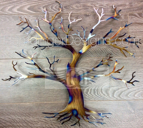 Maple Tree Metal Wall Art