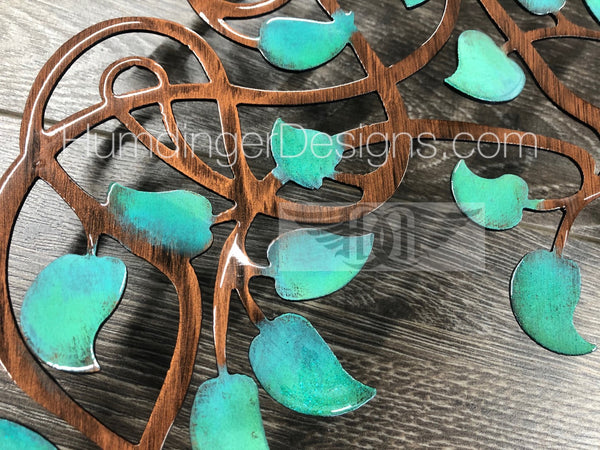 Infinity Tree (Antique Teal)