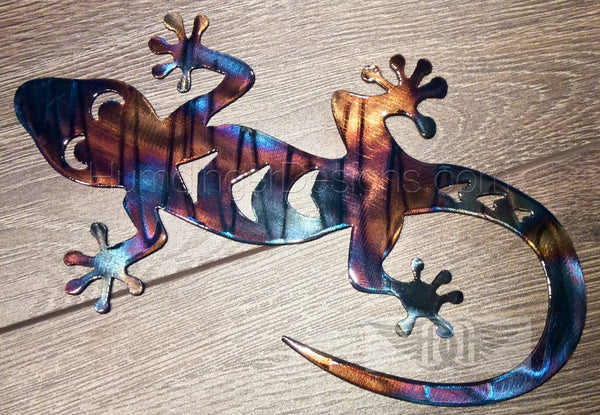 Gecko Metal Art