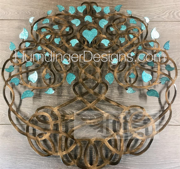 ETERNITY TREE - Eternity Tree Teal Sparkle