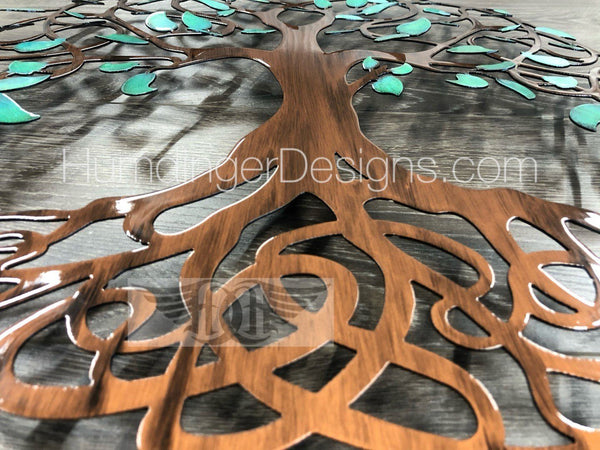 Infinity Tree - Infinity Tree (Antique Teal)