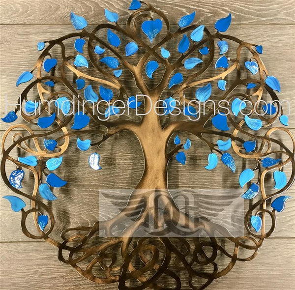 Infinity Tree (Forget Me Not Blue)
