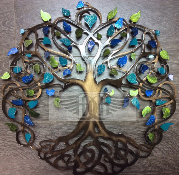 Infinity Tree (Green and Blue)
