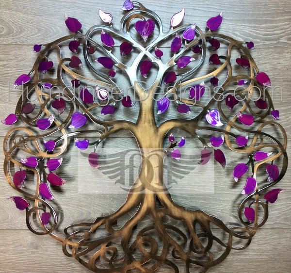 Infinity Tree (Raspberry Pearl Sparkle)
