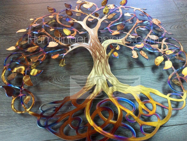 Infinity Tree - Infinity Tree (Stainless Steel Gold Trunk)