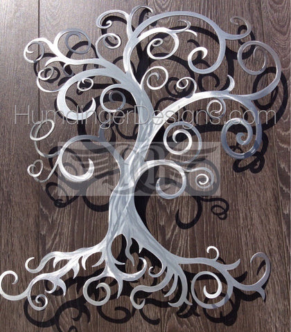 Swirly Tree - Swirly Tree Aluminum 3D