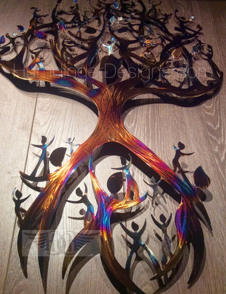 Tree - Family Tree Metal Wall Art
