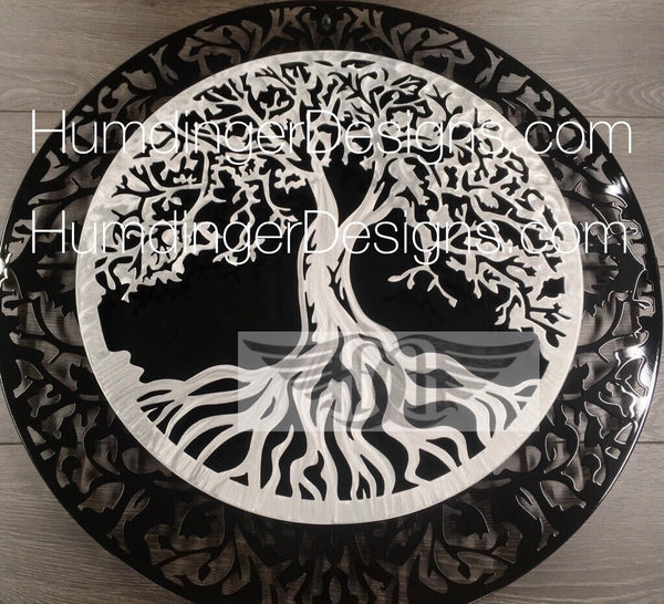 Tree Of Life - Tree Of Life (2 Piece Black And Silver)