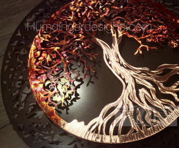 Tree Of Life - Tree Of Life In Pure Copper (Two Piece 3D)
