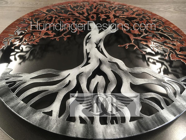 Tree Of Life - Tree Of Life (Merlot Sparkle) With Simple Dark Background