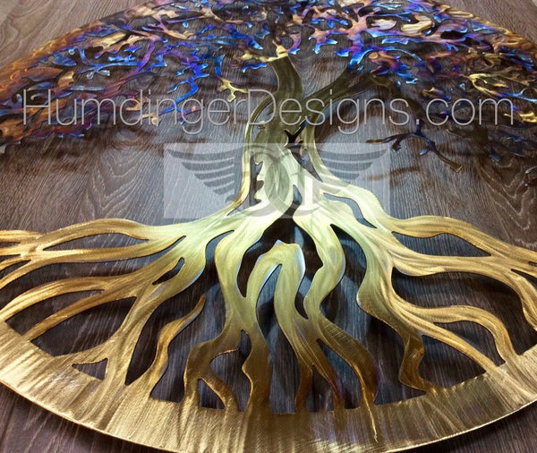 Tree Of Life - Tree Of Life (Stainless Steel With Golden Trunk)