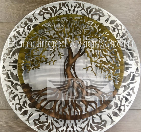 Tree of Life Traditional Two-Piece  3D