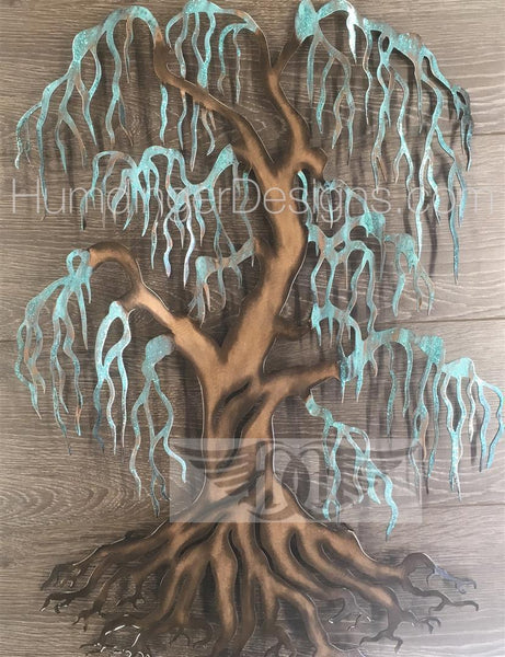 Willow Tree (Copper Patina Sparkle)