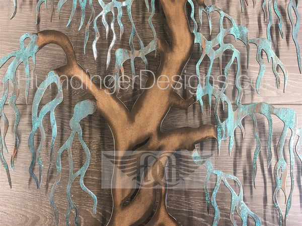 Willow Tree - Willow Tree (Copper Patina Sparkle)