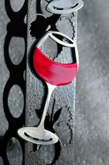 Wine Rack Wall Mount (Wine Glasses)