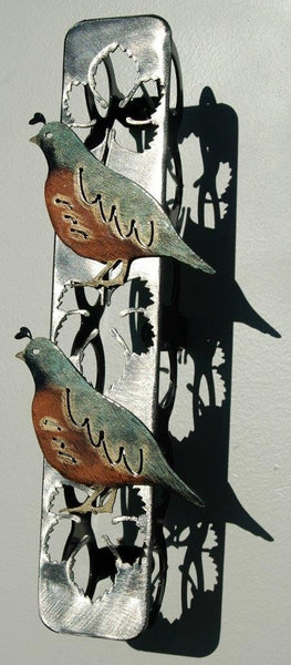 Wine Rack Wall Mount With Quail