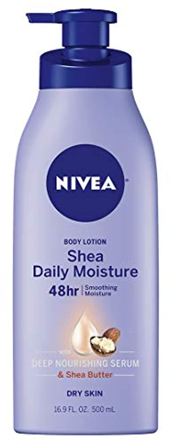 Classier: Buy NIVEA NIVEA Shea Daily Moisture Body Lotion - 48 Hour Moisture For Dry Skin - 16.9 fl. oz. Pump Bottle