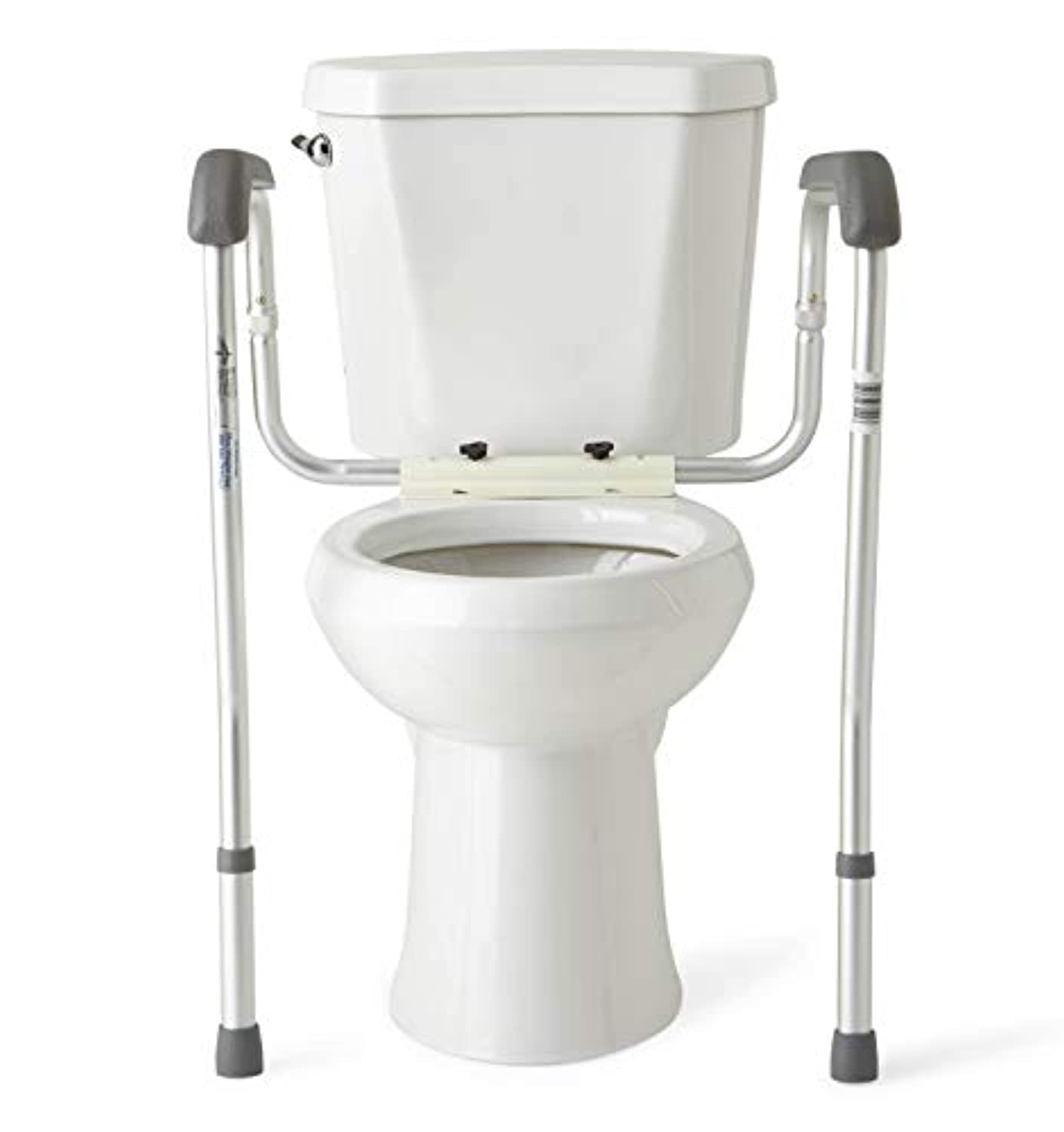 Classier: Buy Medline Medline Toilet Safety Rails, Safety Frame for Toilet with Easy Installation, Height Adjustable Legs, Bathroom Safety