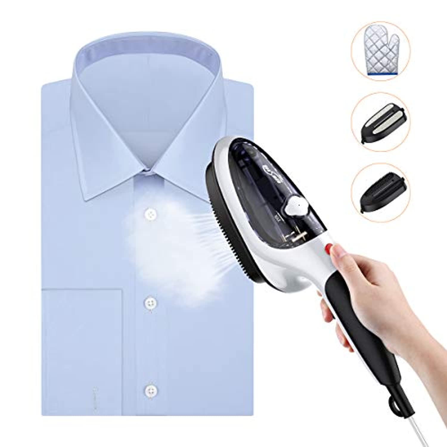 Classier: Buy Housmile Housmile Steamer for Clothes, Portable Garment Steamer and Steam Iron, Handheld Steamer with Two Brushes, 30s Fast Heated up, Home and Travel