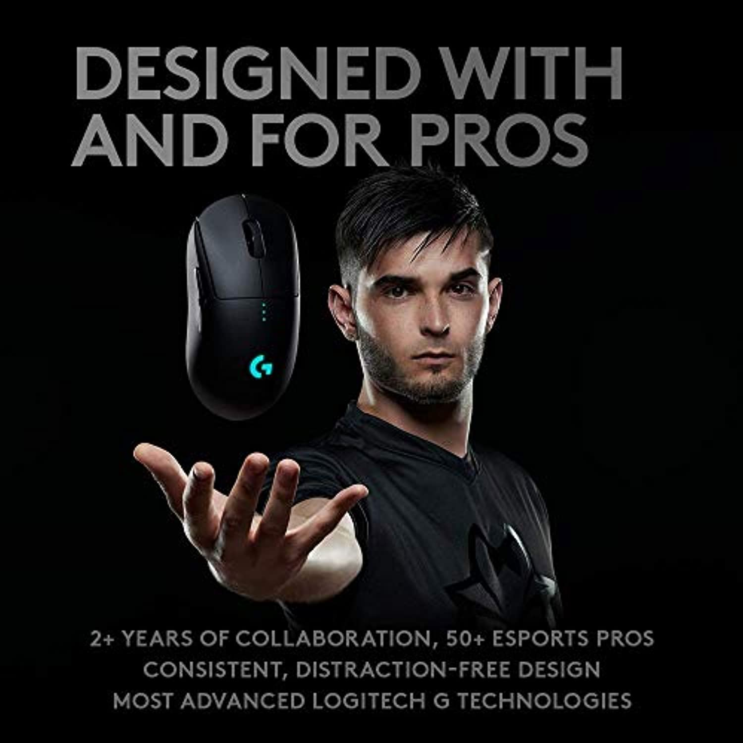 Classier: Buy Logitech G Logitech G Pro Wireless Gaming Mouse with Esports grade performance