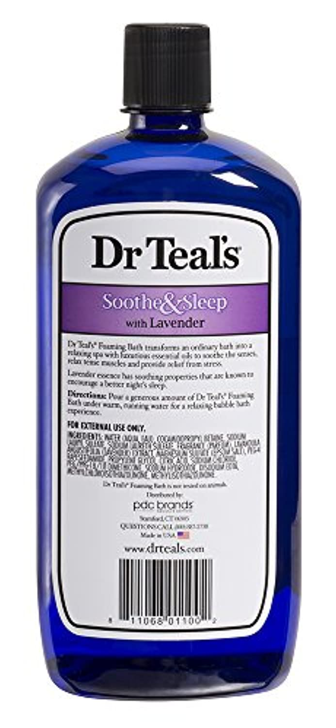 Classier: Buy Dr Teal's Dr Teal's Foaming Bath with Pure Epsom Salt, Soothe & Sleep with Lavender, 34 Ounces