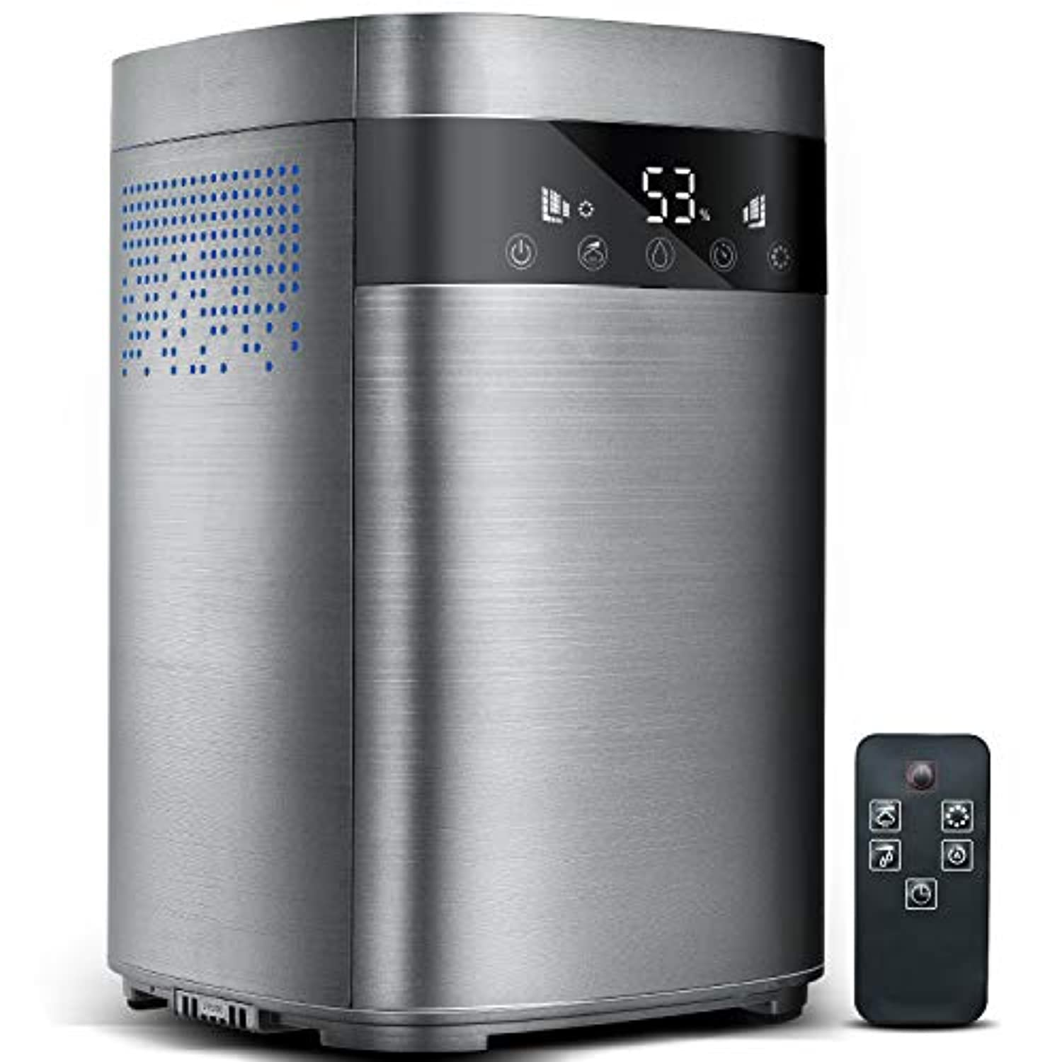 Classier: Buy TTLIFE TTLIFE Top-Filling Warm & Cool Mist Humidifier, Large Capacity 4L Remote Control 360° Modern Humidifier, LED Touch Display, Customized Humidity, Sleep Mode Whisper Quiet Humidifier Large Bedroom