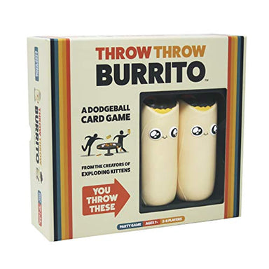 Classier: Buy Exploding Kittens LLC Throw Throw Burrito by Exploding Kittens - A Dodgeball Card Game - Family-Friendly Party Games - Card Games for Adults, Teens & Kids