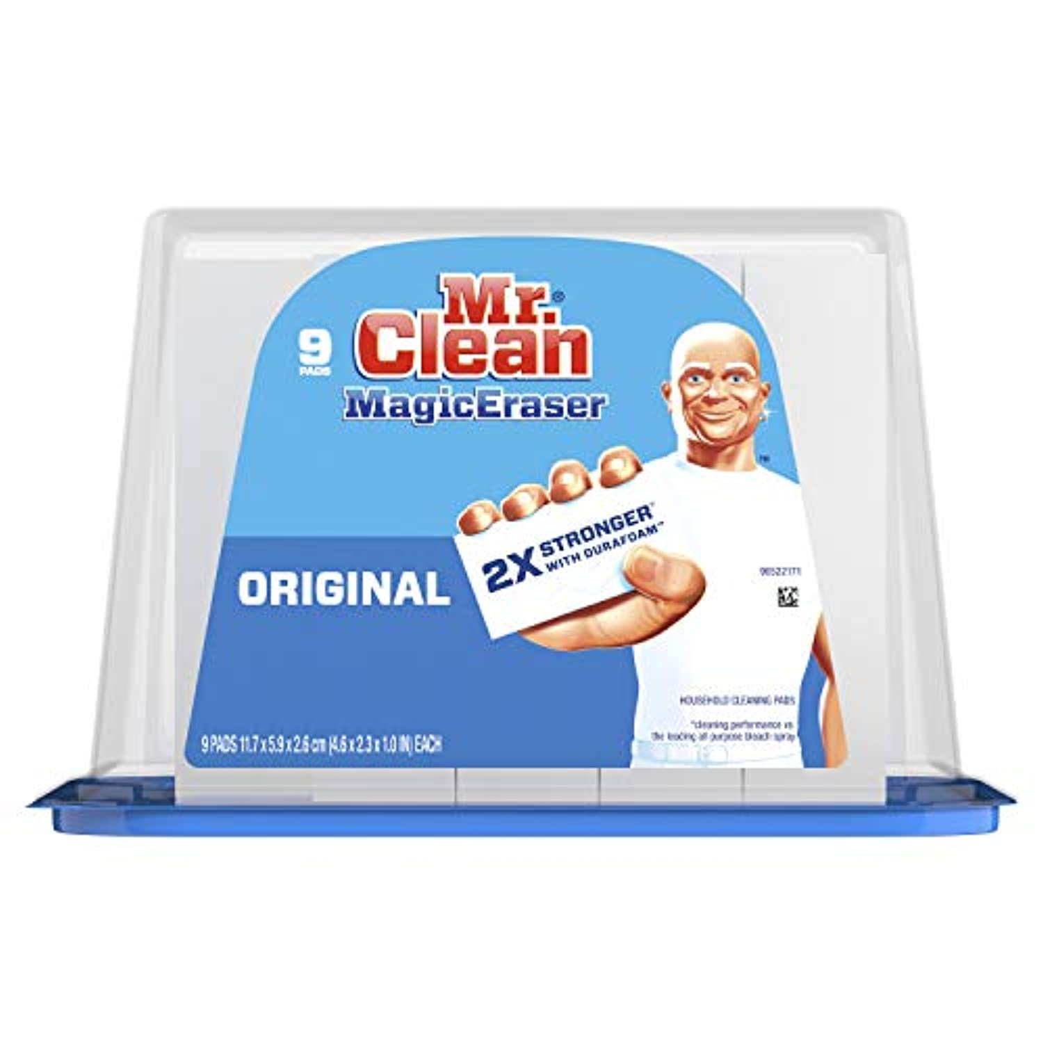 Classier: Buy Mr. Clean Mr. Clean Magic Eraser Original, Cleaning Pads with Durafoam, 9 Count
