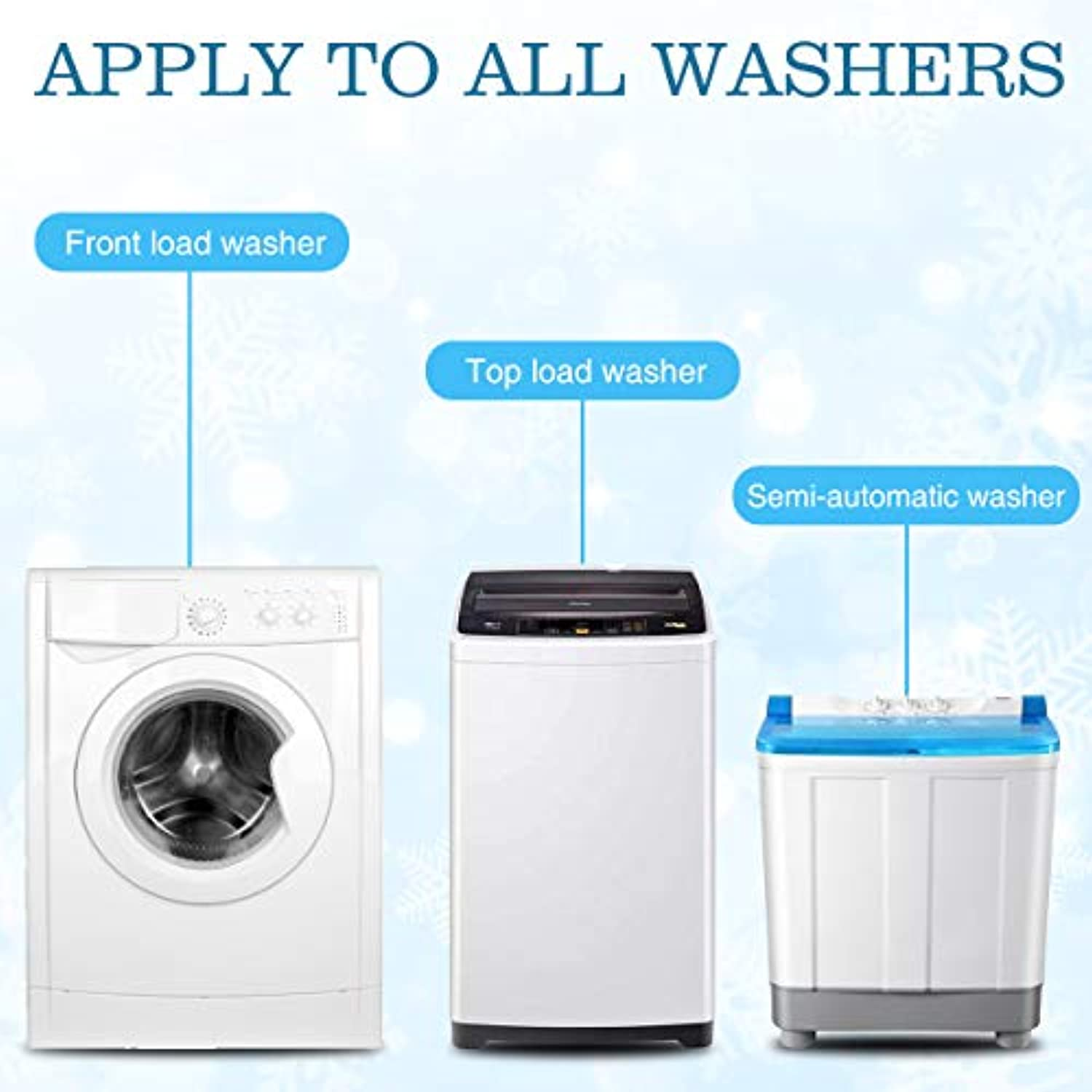 Classier: Buy CAMTOA CAMTOA Solid Washing Machine Cleaner Effervescent Tablet Washer Cleaner