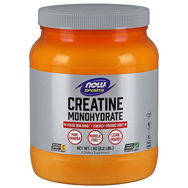 Classier: Buy NOW Foods NOW Sports Nutrition, Creatine Monohydrate Powder, Mass Building*/Energy Production*, 2.2-Pound