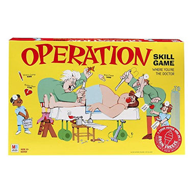 Classier: Buy Hasbro Gaming Operation Electronic Board Game With Cards Kids Skill Game Ages 6 and Up (Amazon Exclusive)