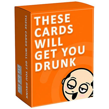 Classier: Buy These Cards Will Get You Drunk These Cards Will Get You Drunk - Fun Adult Drinking Game for Parties