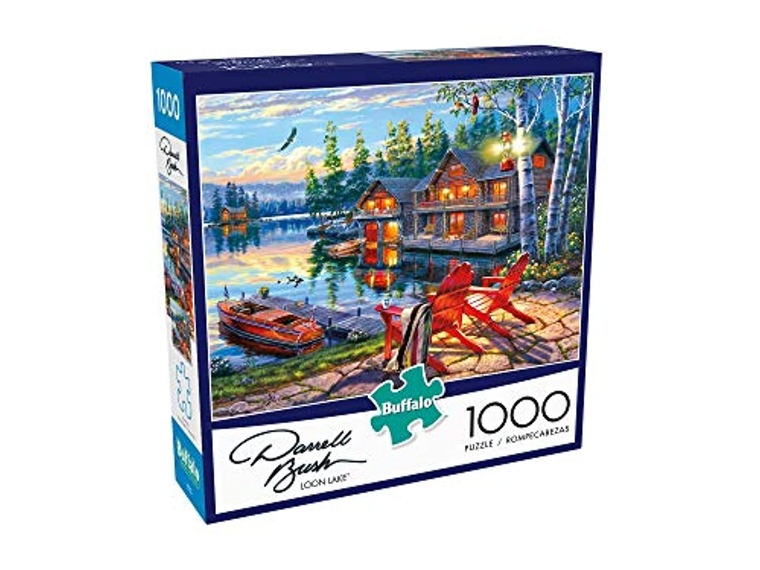 Classier: Buy Buffalo Games Buffalo Games - Darrell Bush - Loon Lake - 1000 Piece Jigsaw Puzzle